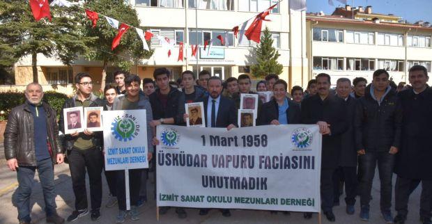 1 MART VAPUR FACASI İZMİT'TE ANILDI