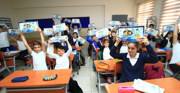 6. sınıflar yeni nesil tablet bilgisayarlarına kavuşuyor