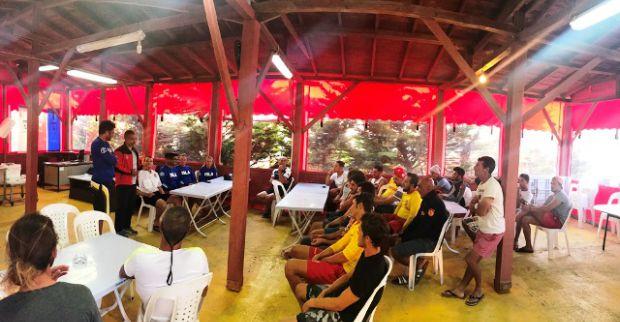 ABD ve Avustralya'dan gelen  ekip KOSKEM'den eğitim alıyor