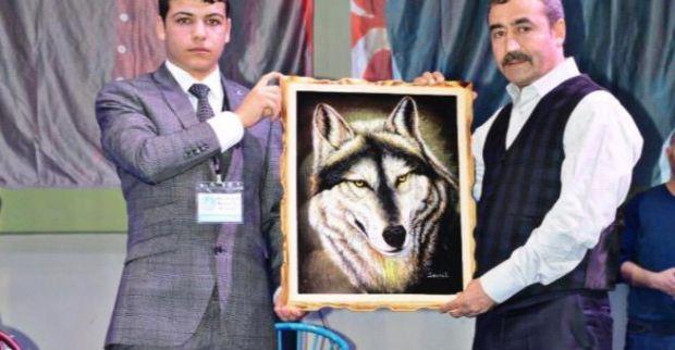 Açık artırmada tabloyu Abdurahman Kaya aldı
