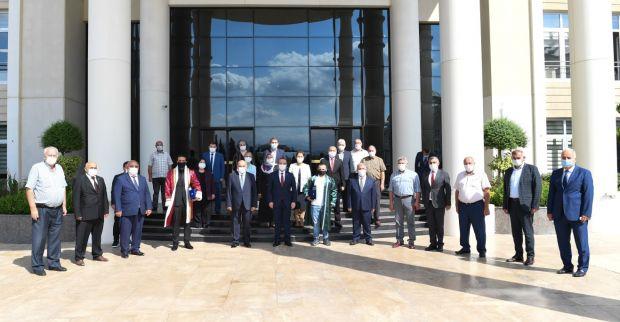 Ahilik Kutlama Komitesi Vali Seddar Yavuz'u Ziyaret Etti