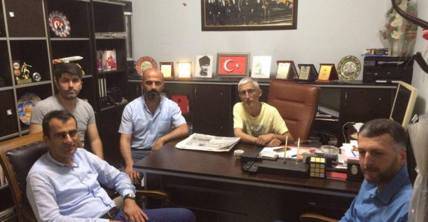 AK Parti Başkanı Şirin'den teşekkür ziyaretleri