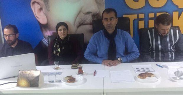 AK Parti Çenedağ Mahallesi Koordinasyon toplantısını yaptı