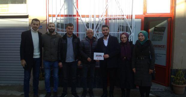 AK Parti Derince Gençlik Kolları'ndan Gazetemize ziyaret