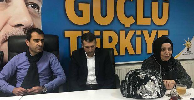 AK Parti Derince haftalık toplantısını gerçekleştirdi