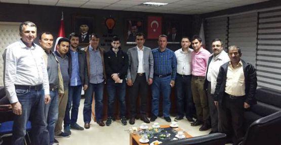 AK Parti Derince  Mahalle Başkanları ile toplantı yaptı