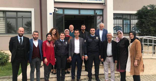 AK Parti Derince Polis haftasında ziyaretler yaptı