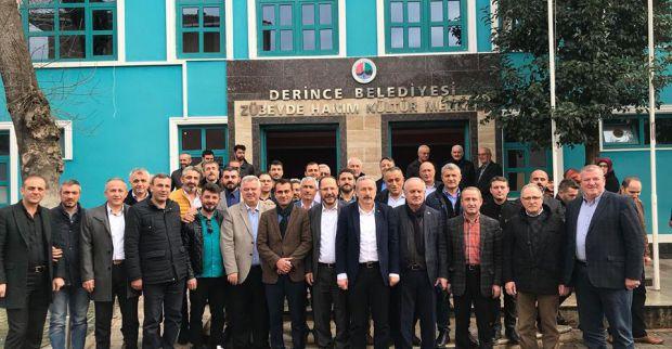 AK Parti Derince'de istişare kurulu üyeleri ile toplandı