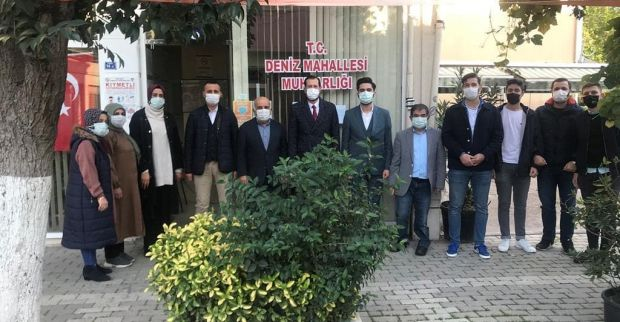 AK Parti Derince'den Deniz Mahallesine çıkarma