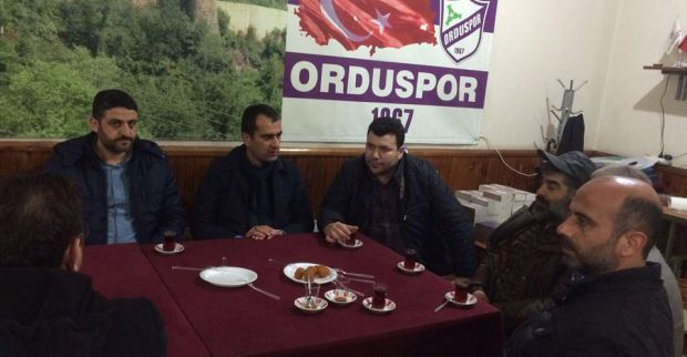 AK Parti Derince'den Ordulular derneğine ziyaret