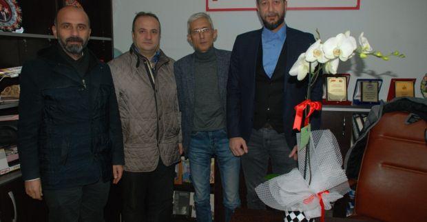AK Parti İlçe Başkanı Çakıroğlu  Gazeteciler gününü unutmadı