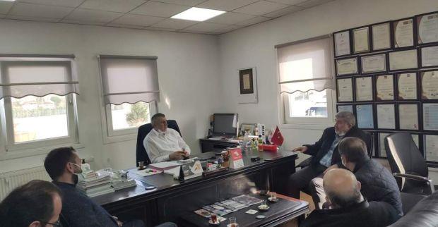AK Parti İlçe Çakır'la esnaf ziyareti yaptı