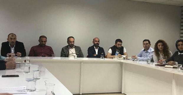 AK Parti İlçe toplantısını Şirin başkanlığında yaptı