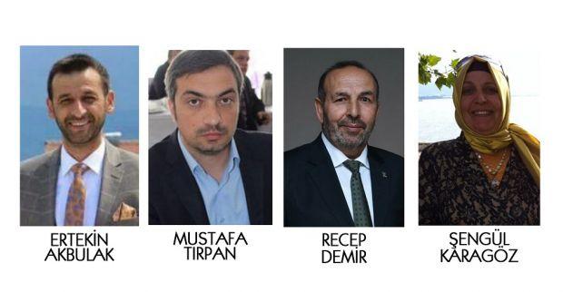 AK Partide İl yönetimine Derince ilçeden 4 isim