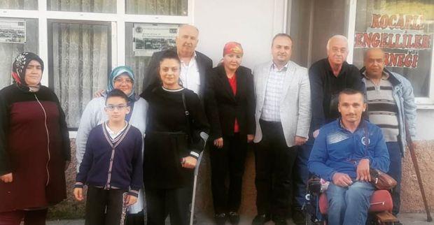 AK Partiden Kocaeli Engelliler Yardımlaşma ve Dayanışma Derneğine Ziyaret