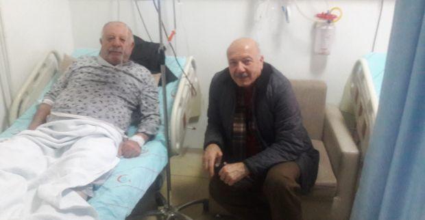 Altuntaş'tan Mehmet Tarım'a geçmiş olsun ziyareti