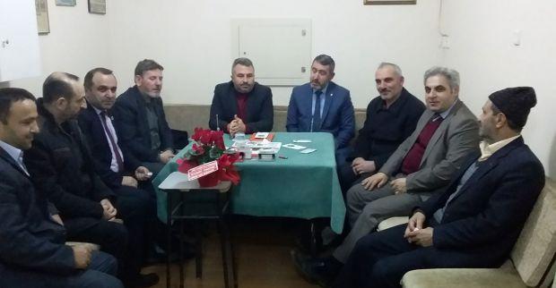 Amasyalılar Derneği'ne ziyaret
