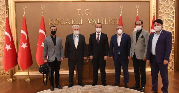 Aras'tan Vali Yavuz'a ziyaret