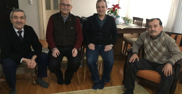 Arif Zengin'in 52.sene önceki sınıf arkadaşları