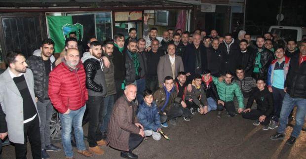 Aygün'den 'Hodri Meydan' ziyareti