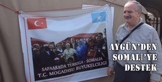 Aygün'den Somali'ye destek!