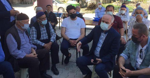 Aygün'den Terziler'de Bayram Ziyareti