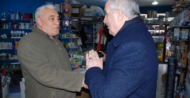 Aygün'den Yenikent'te esnaf ziyareti