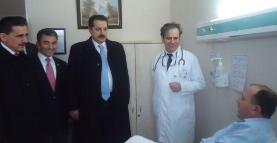 Bakan Çelik, SGK Grup Başkanı Acar'ı ziyaret etti