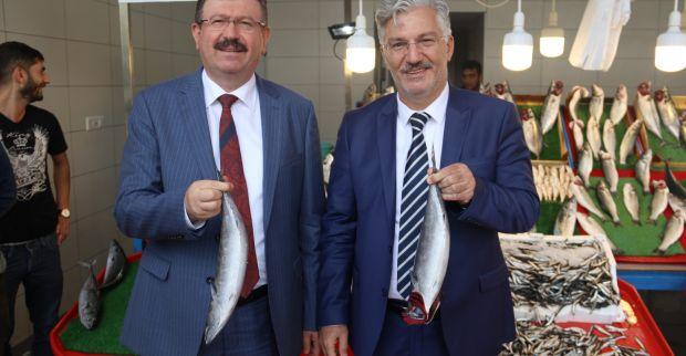 Balıkhan'ın ilk müşterileri Özak ve Bayram