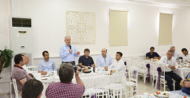 Başkan Aygün, Bu Kez Yenikent'teydi