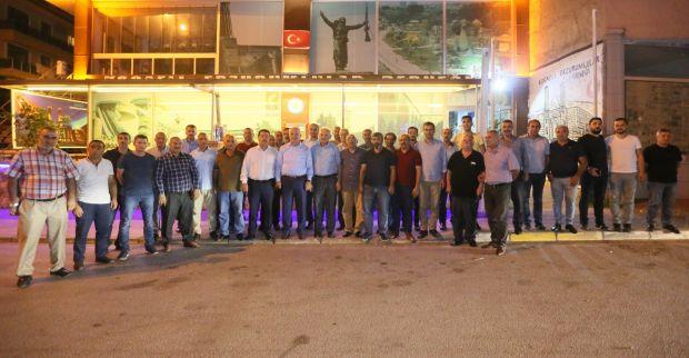 Başkan Aygün Erzurumlular'ın Konuğu Oldu