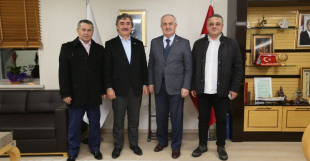 Başkan Aygün, Hamarat'ı Ağırladı