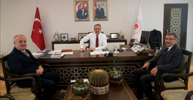 Başkan Aygün'den Ankara'da Temaslar
