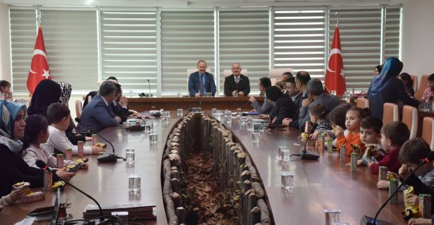 Başkan Aygün'den Kaymakam Kantay'a Ziyaret