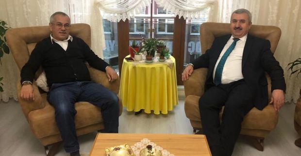 Başkan Baran'dan Vatandaşa Ziyaret