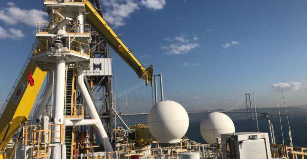 Başkan Bulut, Türkiye'nin İlk Sondaj Gemisini İnceledi