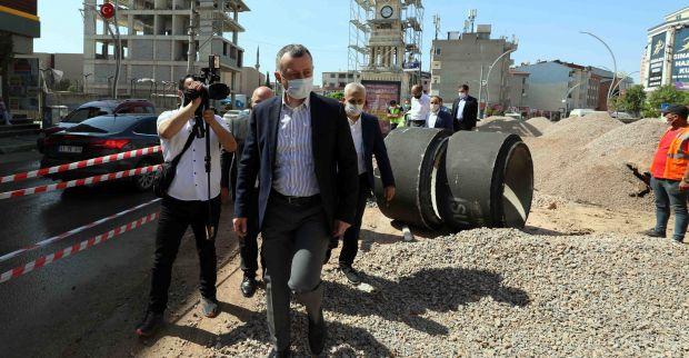 """Başkan Büyükakın, """"Darıca'da altyapı sorununu çözüyoruz"""""""