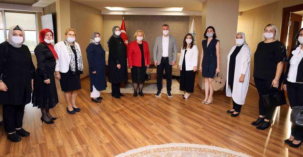 Başkan Büyükakın, ''STK'larımızın proje ve  fikirleri bizim için yol gösterici''