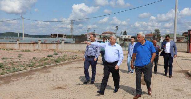 Başkan Karaosmanoğlu Körfez'de projeleri gezdi