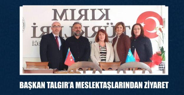 BAŞKAN TALGIR'A MESLEKTAŞLARINDAN ZİYARET
