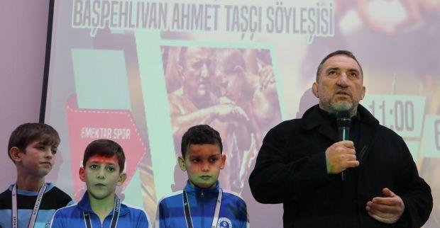 """Başpehlivan Ahmet Taşçı, 'İstediğim başarıya ulaşamadım"""""""