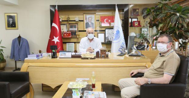 Bayram'dan Başkan Aygün'e Ziyaret
