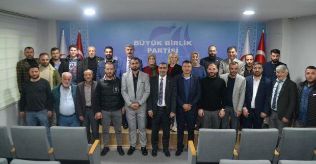 BBP yeni ilçe başkanlarını açıkladı