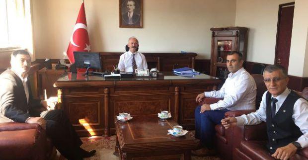 BBP'li Aydın'dan protokol ziyareti