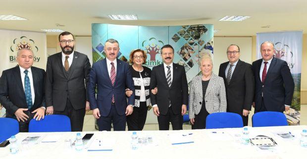 Bizimköy Engelliler Üretim Merkezi Vakfı Mütevelli  Heyet Toplantısı, Sayın Valimizin Başkanlığında Gerçekleştirildi.