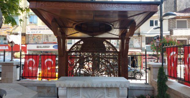 Büyükşehir'den Çınarlı Camiine özel sundurma