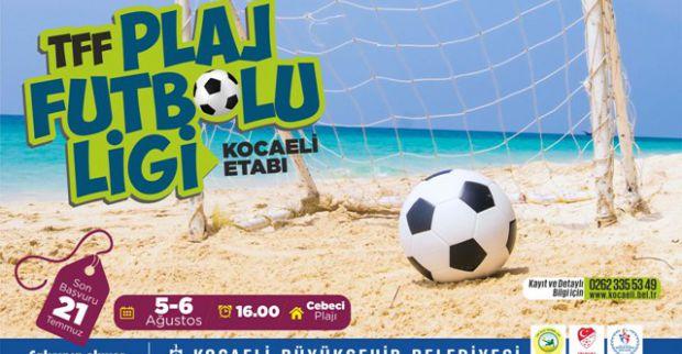 Büyükşehir'den Plaj Futbolu Ligi