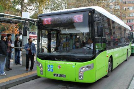 Büyükşehir'in toplu taşıma araçları  saat 19.00'dan sonra ücretsiz