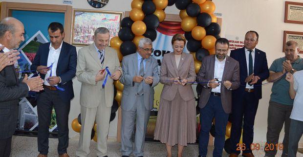 Çakabey İlkokulu'nda Çok Amaçlı Konferans Salonu Açıldı