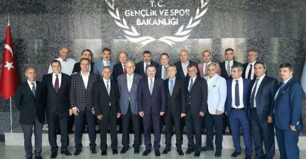 Çavuşoğlu'ndan Bakan Bak'a hayırlı olsun ziyareti